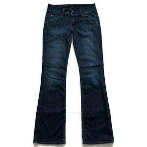 Hudson Jeans Signature Boot Cut Distressed Denim